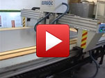 CNC machine for aluminum composite panels, MDF and wood - Dabos Bulgaria